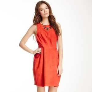 Joie Red Suede Dress - Size XS (worn once!)